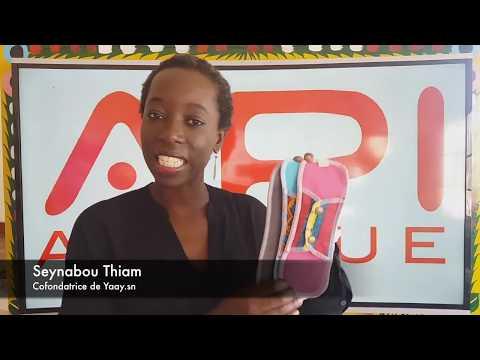 Vidéo présentation et démonstration serviettes hygiéniques ApiAfrique - Français