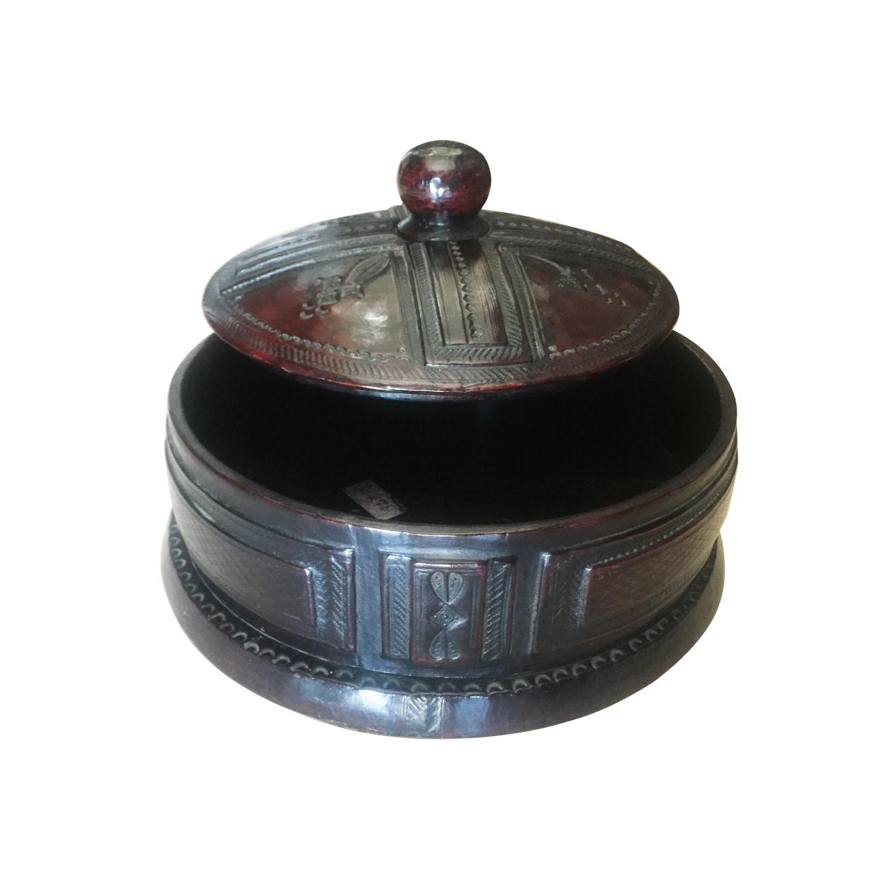 Round Tuareg Jewelry Box