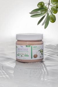 Natural and soft Mask with plants