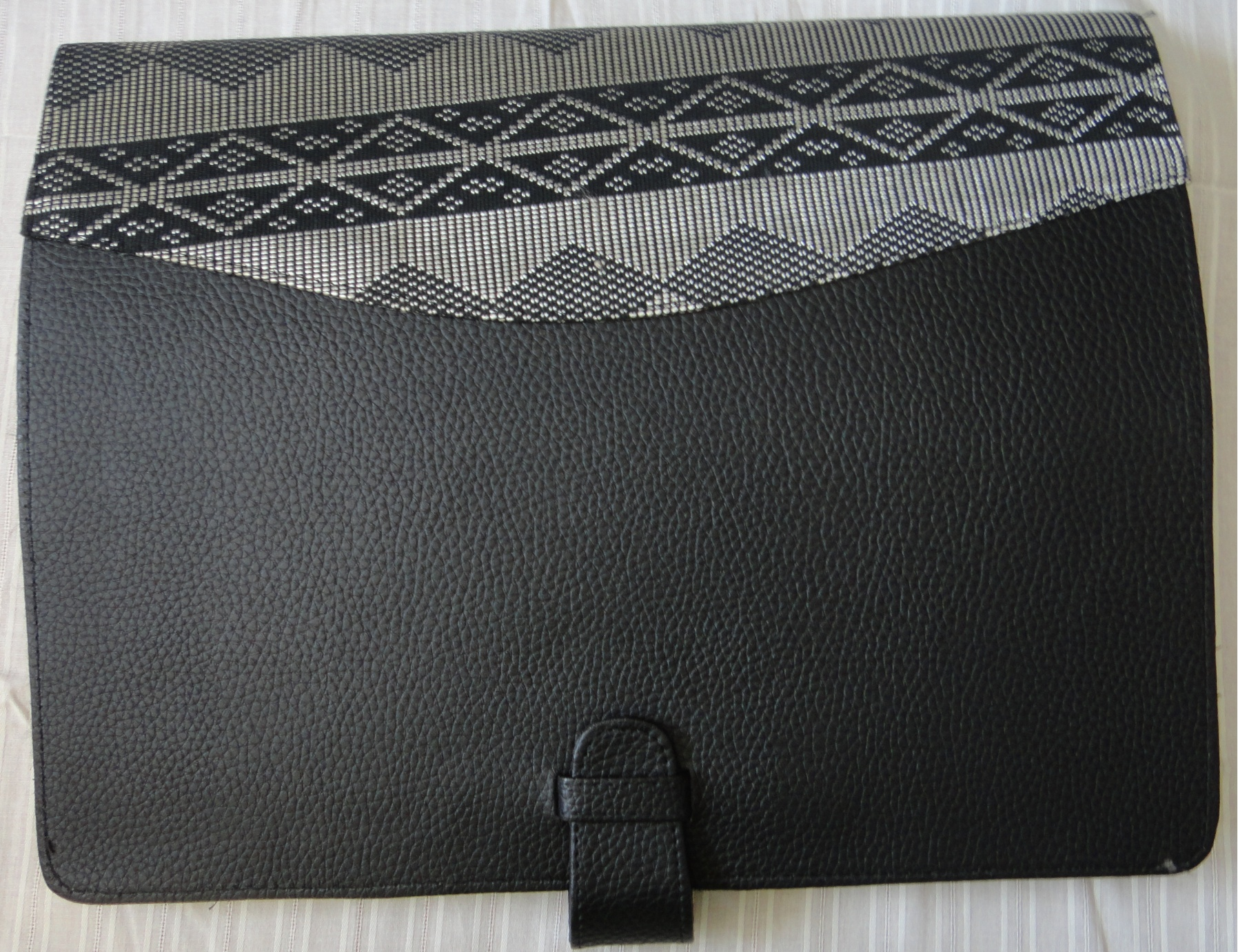 Woven Loincloth Document Holder