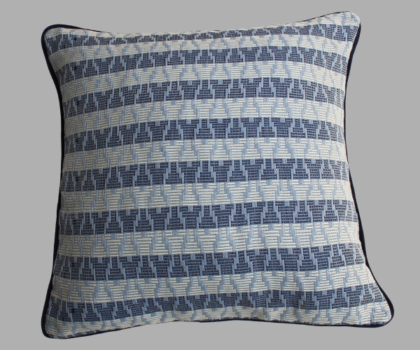 Ice Blue Cushion