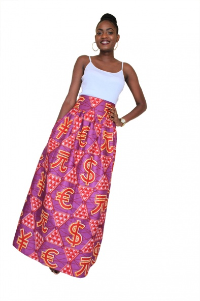 Jupe Wax Vlisco