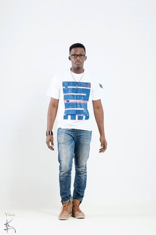T-Shirt NKYINKYIM Blanc