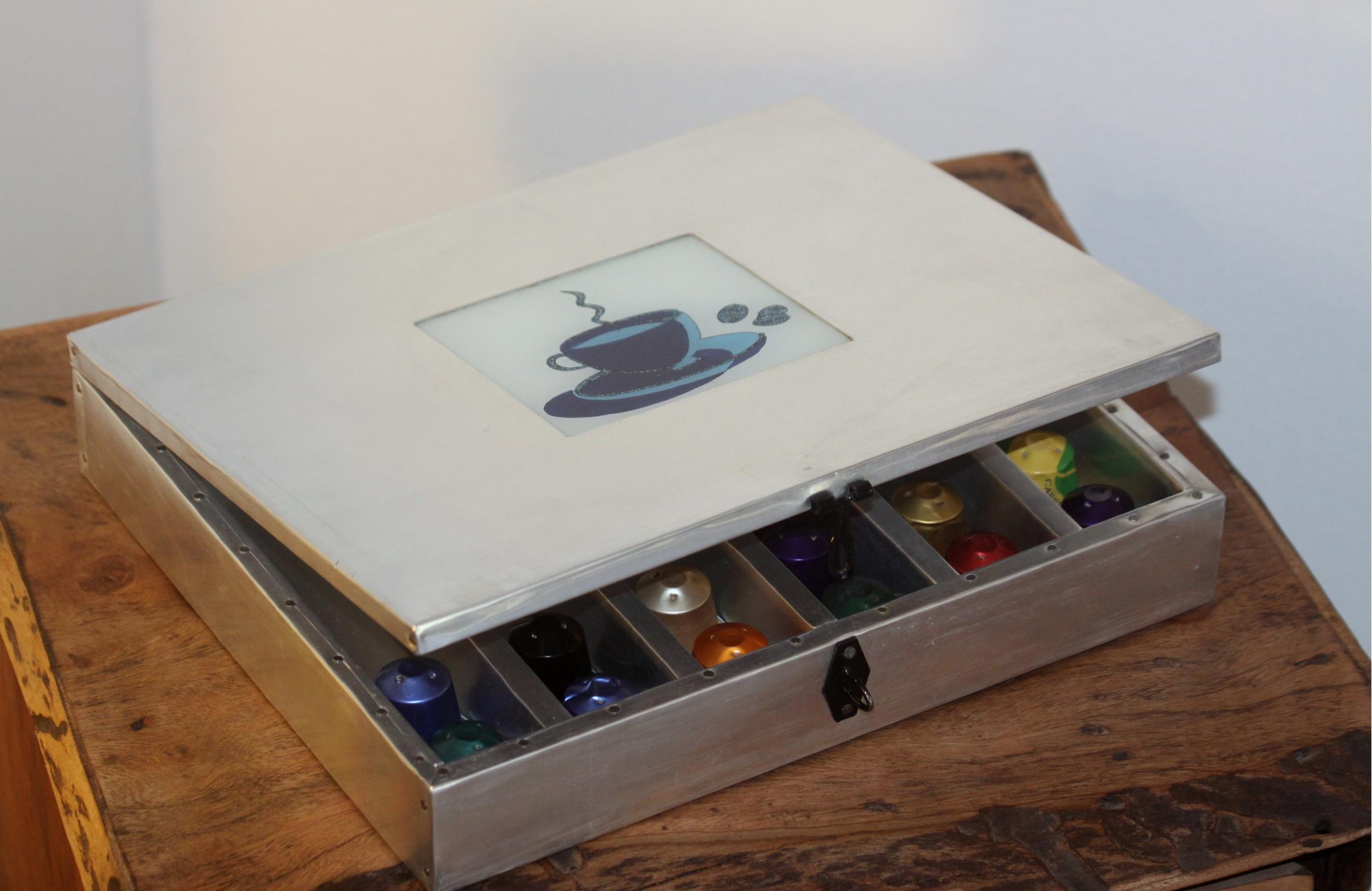 Coffret présentation capsules Nespresso