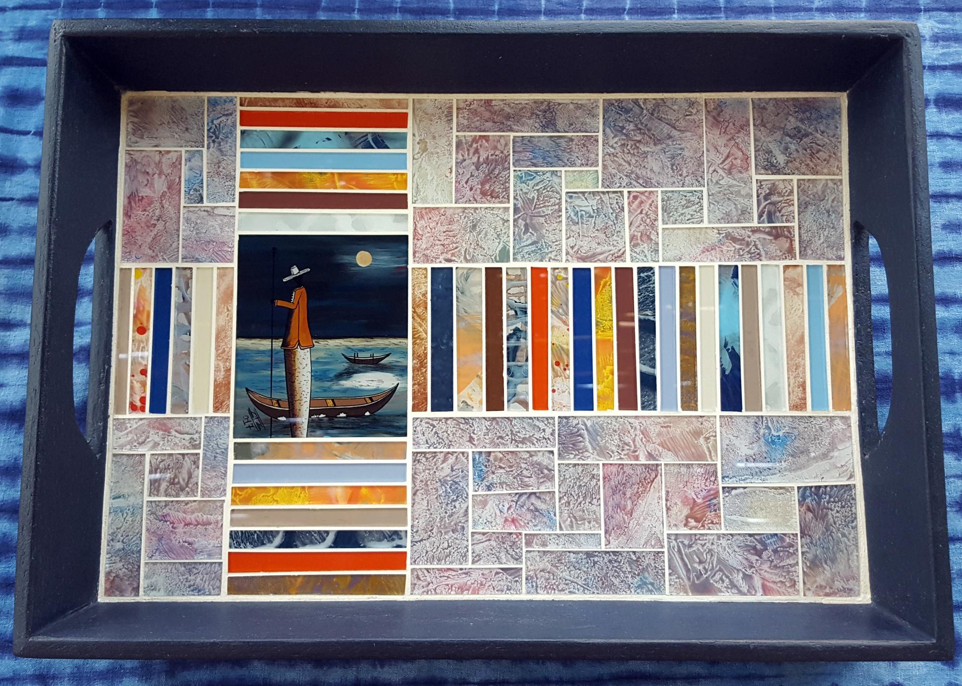 Mosaic Tray All Small