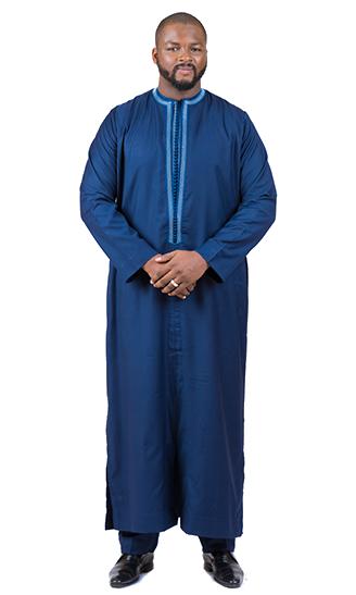 Faux Tunique Bleu de Nuit