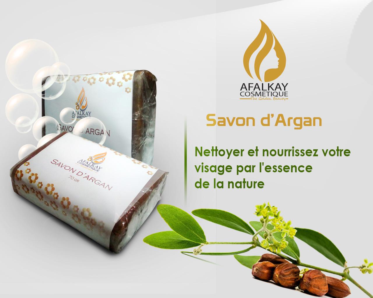 Savon d'Argan BIO et Naturel