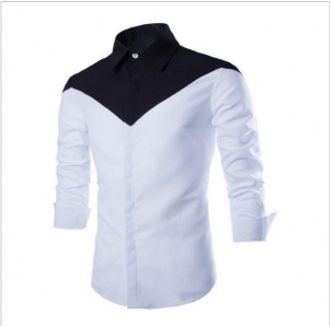 Classic casual shirt Two Tone