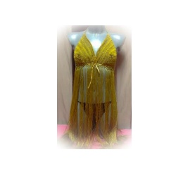 Twine knit dress