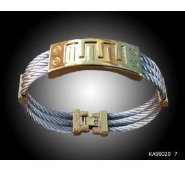 Bracelet de bras en Acier et or Plaqué