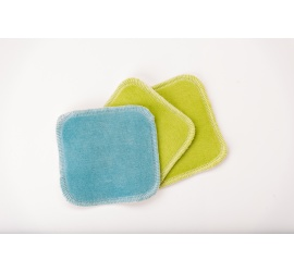 Reusable cleansing wipes