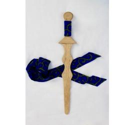 Wooden zigzag sword
