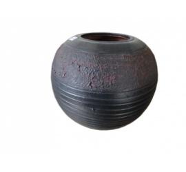 Dark Grey Vase