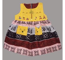 Bogolan Dress