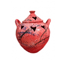 Incense Pot - Hearts