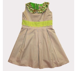 Collar Claudine Dress