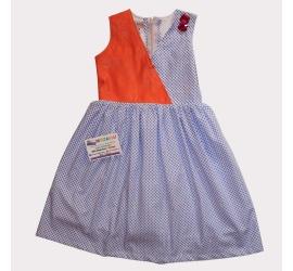 Princess Patch Bazin Dress
