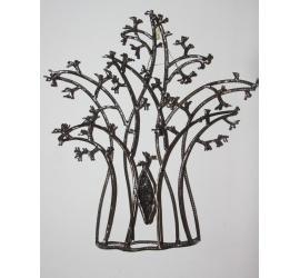 Baobab en métal torsadé
