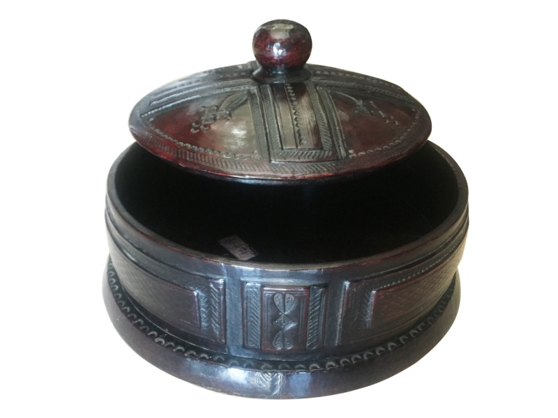 Round Tuareg Jewelry Box