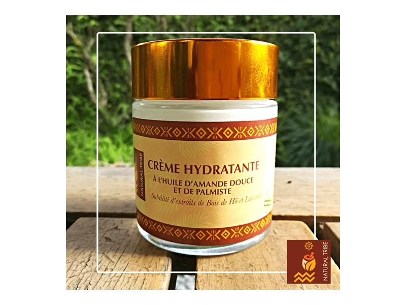 Crème Hydratante (à l'huile d'amande douce, palmiste & baobab)