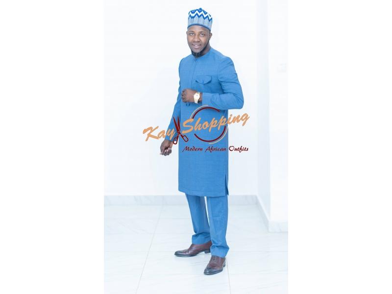 Ndiogou blue suit