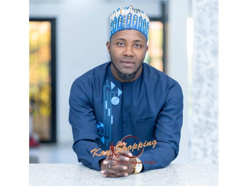 Ndiogou blue shirt