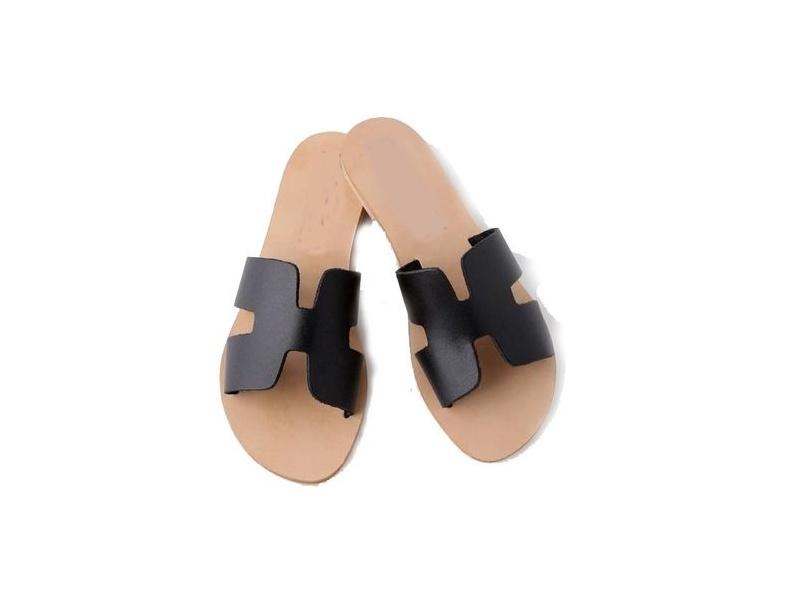 Sandales nu-pieds de design H