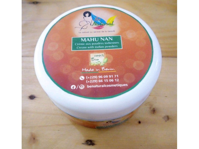 Cream with Indian powders