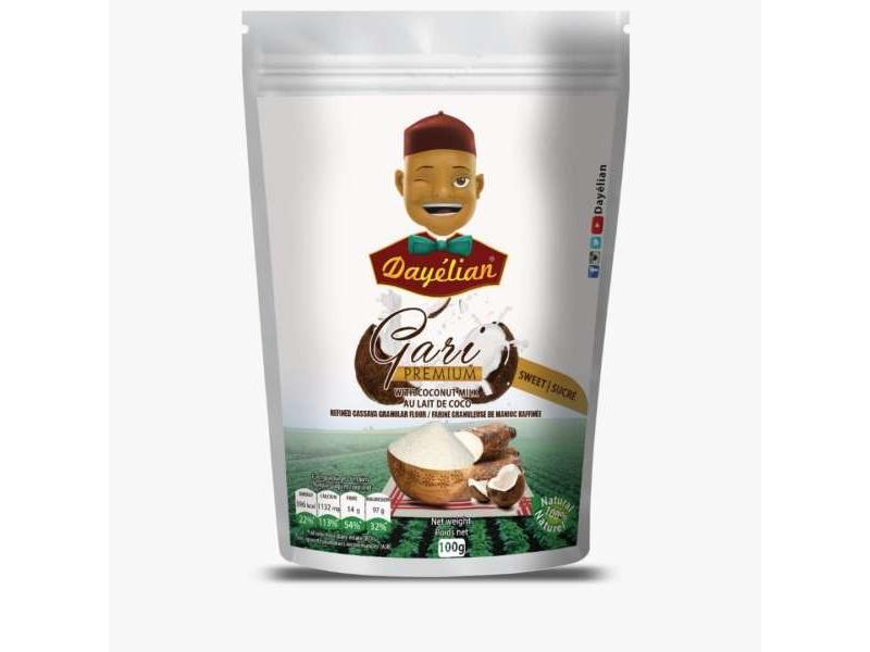 Gari Premium with Coconut Milk