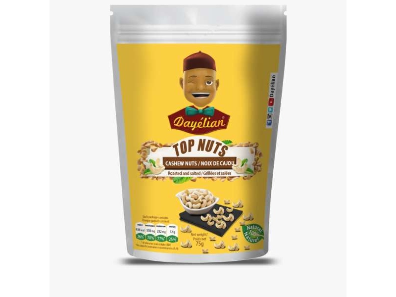 TOP Nuts Cashew Buttered