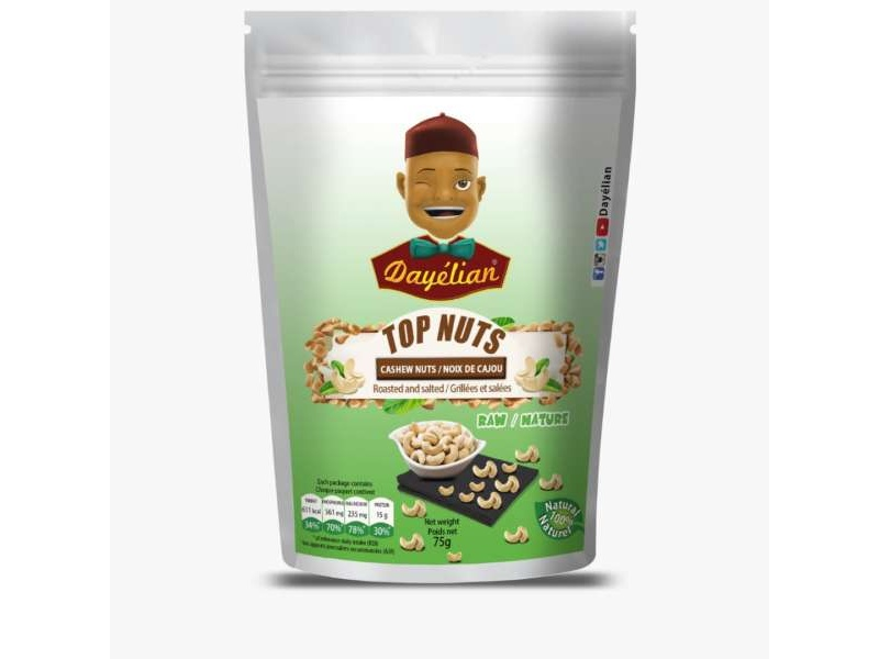 TOP Nuts Natural Cashew