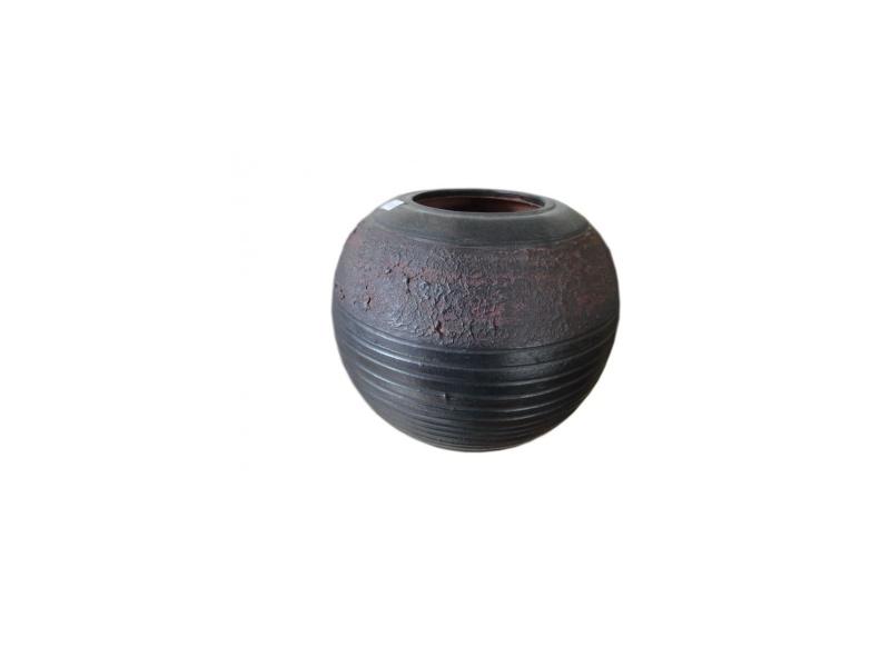 Vase céramique Grise