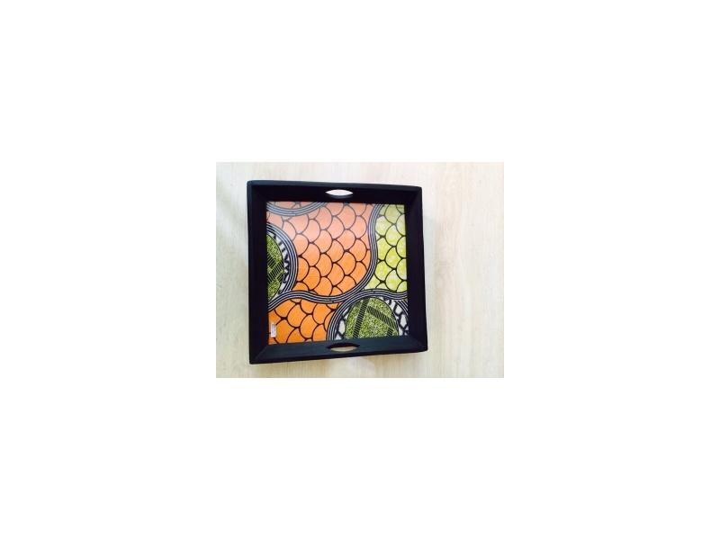 Wax Plate under glass
