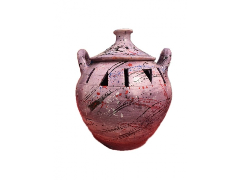Incense Pot Purple