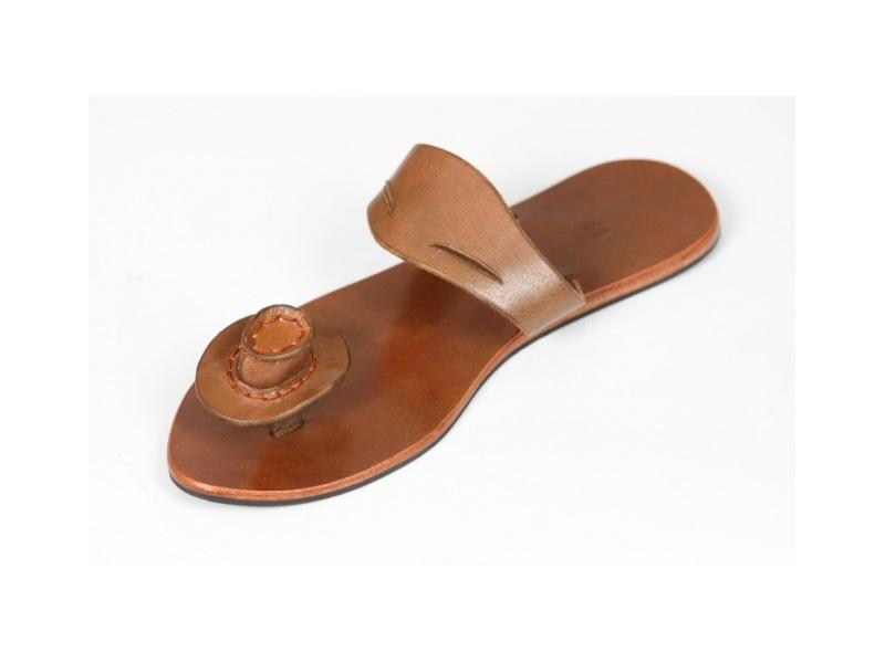 Sandales cuir- Fleur