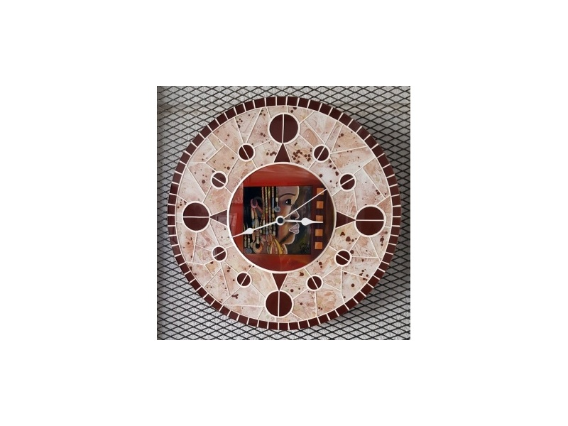 Small model mosaic clock