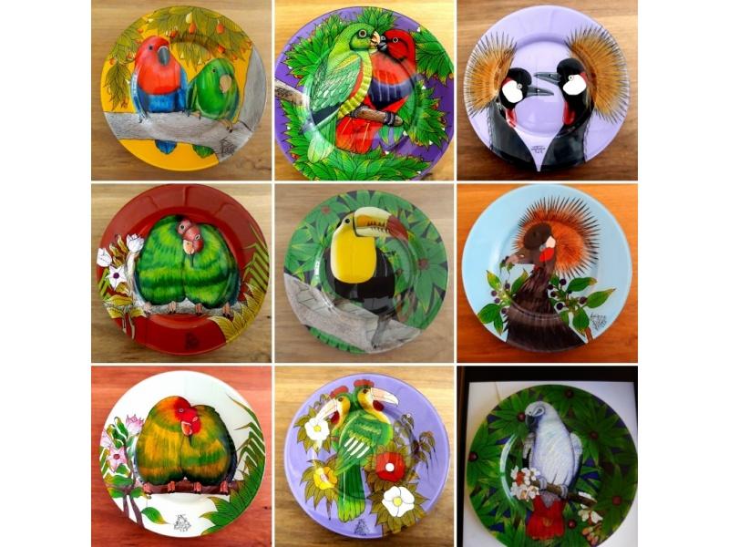 Bird plate