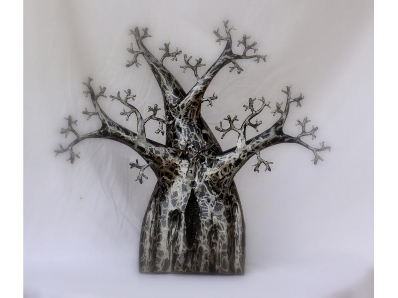 Large metal baobab