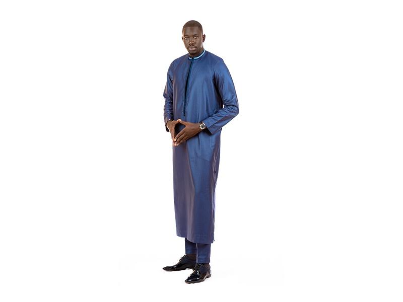 Faux Tunique Bleu
